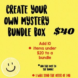 Make your own bundle box $40